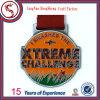 Изготовленный на заказ мягкий спорт эмали награждает медаль с тесемкой