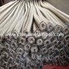 Acoplamiento de la trenza del acero inoxidable con el manguito interno del metal flexible