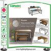 Escritorio promocional de madera del vector del MDF de la jerarquización para el almacén de ropa