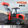 Qingdao Everun 1.0 Ton Small Front Loader с Grass Forks