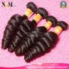 O cabelo barato não processado do Virgin da classe 8A afrouxa brandamente o cabelo ondulado indiano de Remy da onda