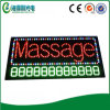 Diodo emissor de luz super Massage Sign Board de Brightness com Phone Number (hsm0162)