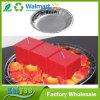 Promoción Ronda del papel de aluminio Vela Vela bandeja de contenedores