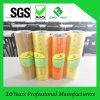 Cinta amarillenta adhesiva del embalaje del claro BOPP del pegamento de la alta calidad