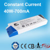 40W 700mA konstante Stromversorgung des Bargeld-LED mit TUV-Cer
