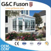 プレハブの新しいデザインアルミニウムフレームのゆとりガラスのSunroom