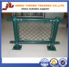 Green PVC Coating and Galvanized Steel Round Fence Post