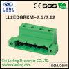Pluggable разъем терминальных блоков Ll2edgrkm-7.5/7.62