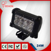 5 인치 Dual Rows 24W LED Work Light Bar