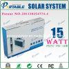15W 이동하는을%s 휴대용 태양 가정 체계 옥외//야영 (PETC-FD-15W)