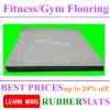 Forma fácil limpieza Square gimnasia de suelo de goma Esteras
