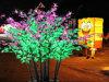 屋外LEDの木