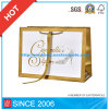 Saco branco do presente do papel dos sacos de papel de arte/do saco portador de papel