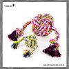 Mischungs-Farben-Baumwollkugel-Hundespielzeug