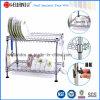 Запатентованный шкаф Drainer тарелки кухни металла крома DIY