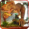 Kundenspezifischer Plastik stellt Dinosaurier-Simulation dar