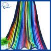 Serviette de plage entièrement imprimée colorée de velours