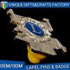 Distintivo di Pin di alta qualità con il metallo di gomma della clip in lega di zinco