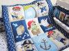 高品質の赤ん坊のキルトのバンパーはシートの一定の養樹園の綿の寝具の一定の男の子の在庫に合った
