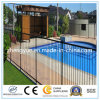 O fabricante coloriu o projeto de aço da cerca do ferro feito