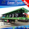 40FT un contenitore dei 3 assi/programma di utilità/base del carico/della piattaforma camion rimorchio semi