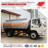 Euro 3 Wielbasis 3800mm van de Emissie 8cbm Olie tankt Tankwagen bij