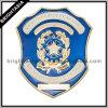 La police dure faite sur commande en métal d'émail Badge (BYH-10037)