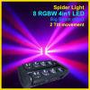 熱い販売RGBW 4のIn1ビームくもの新しい移動ヘッドビーム