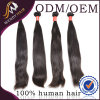 충분히 그리고 Black Color Peruvian Human Hair Silky Straight Hair