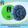Almofadas de polonês 100# do assoalho do diamante de Romatools