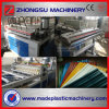 Linha vitrificada PVC maquinaria da extrusão da telha de telhado Sjsz-80/156 do plástico