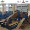 Estructura de acero de fabricación de piezas de maquinaria marina