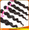 インドのブラジルのマレーシアの緩い波の人間の毛髪の織り方のよこ糸は自由に卸し売りしたり、もつれる