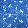 Tissu de denim de broderie avec le modèle de fleur pour Madame (ART#DF515-1)