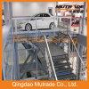 Type vertical hydraulique de ciseaux ascenseur de voiture
