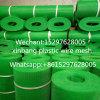 Reti di plastica attraverso la maglia di plastica verde della plastica della maglia dei fori