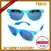 Zonnebril van de Manier van de Kleur van de Huid van de Kikker van het Ontwerp van F6810 2016 de Heetste Volledige