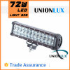 IP67 Double Row 4X4 CREE LED Light Bar 72W