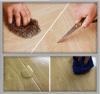 Plancher de PVC d'Amins, installation de plancher de PVC, plancher de PVC