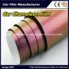 Pellicola dell'involucro dell'automobile della fibra del carbonio del Chameleon, pellicola del vinile del Chameleon