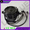 屋外の照明24PCS DMX同価LED RGB IP65 12W