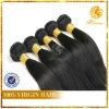 6A等級の加工されていない18inchまっすぐなブラジルの毛