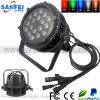 Waterdichte 18X10W 6in1 LED PAR met DMX Control
