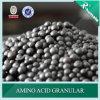 Ácido aminado Humic com fertilizante orgânico 2-4mm granulados de NPK