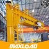 Longue grue de potence fiable de qualité de temps de travail avec l'élévateur de câble métallique pour traiter matériel utilisé dans l'atelier