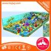 Campo de jogos interno da fibra de vidro feliz do labirinto dos miúdos para o parque