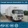 Caminhão do corpo do refrigerador do Wheelbase de Dongfeng Tianjin DFAC 4X2 4700mm