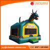 Uitsmijter van de Trampoline van het Park van Amesement van de dinosaurus de Opblaasbare Springende voor Verkoop (t1-108)
