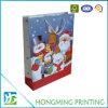 Bolsa de papel impresa aduana de la Navidad