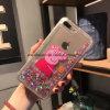 Caja móvil del teléfono celular de la historieta líquida de la arena para el iPhone 6s/6s más, 7/7 más